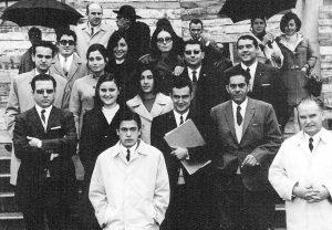 Primera promoción de biología de la Universidad de León
